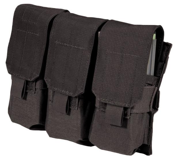 BLACKHAWK S.T.R.I.K.E. M4/M16 Black Triple Mag Pouch (37CL04BK)