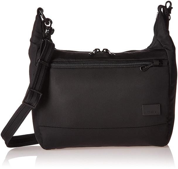 PACSAFE Citysafe CS100 Anti-Theft Black Travel Handbag (20210100)