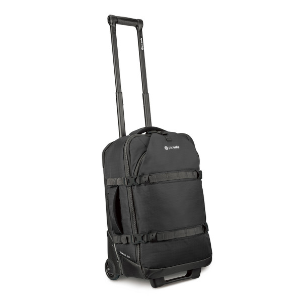PACSAFE Toursafe EXP21 Anti-Theft 21.5in Black Wheeled Carry On Bag (50160100)