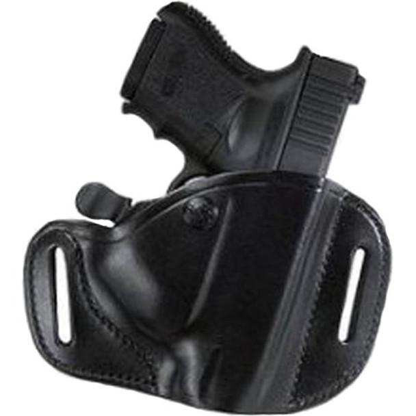 BIANCHI #82 Carrylok Black Left Hand Auto Retention Belt Slide Holster for Glock 19/23 (22153)