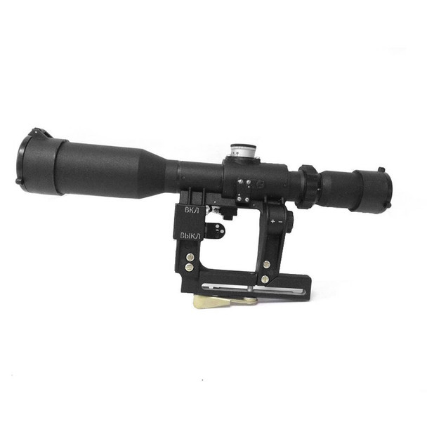 POSP 4-8x42V Russian Variable Power w/ AK Mount Riflescope (4-8x42V)