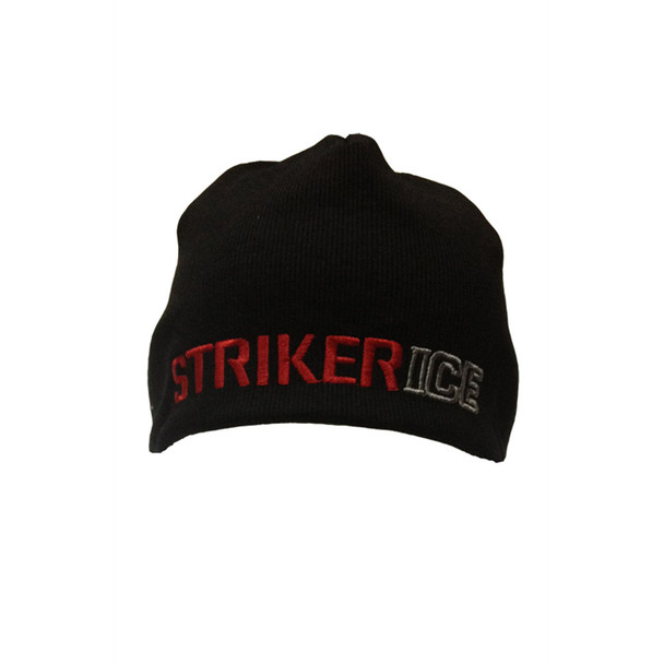 STRIKER Ice Windbreaker Black Beanie (508500)