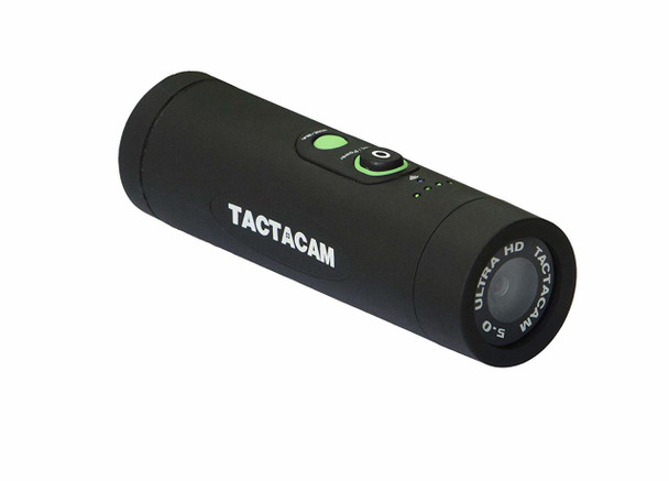 TACTACAM 5.0 Flat Black Mounted Camera