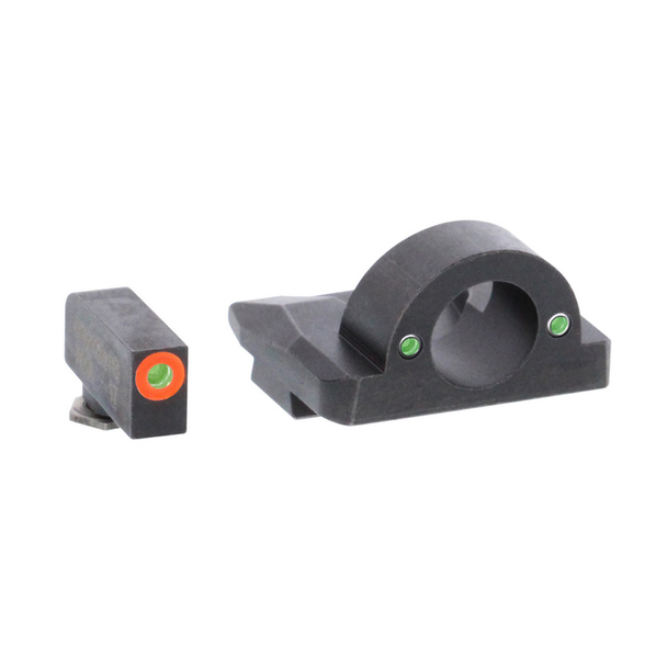 AMERIGLO Ghost Ring Green Tritium Night Sight Set For Glock Gen5 17,19,19X,26,45 (GL-5225)