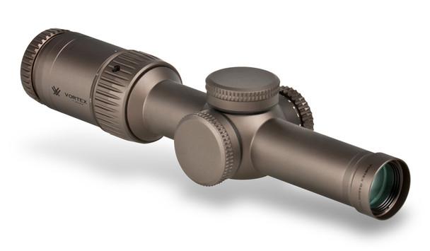 VORTEX RZR HD Gen II-E 1-6x24 30mm VMR-2 MRAD Riflescope (RZR-16009)