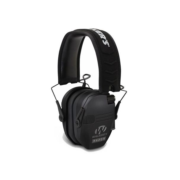 WALKERS GAME EAR Razor Series Black Slim Shooter Electronic Folding Muff (GWP-RSEM)