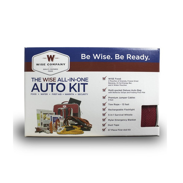 WISE COMPANY Vehicle Emergency All-in-One Auto Kit (01-645)