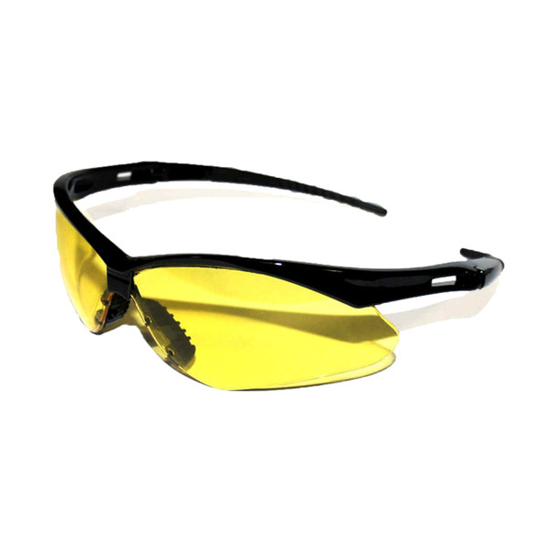 WINCHESTER Premium Amber Lens/Black Frame Shooting Glasses (03385)