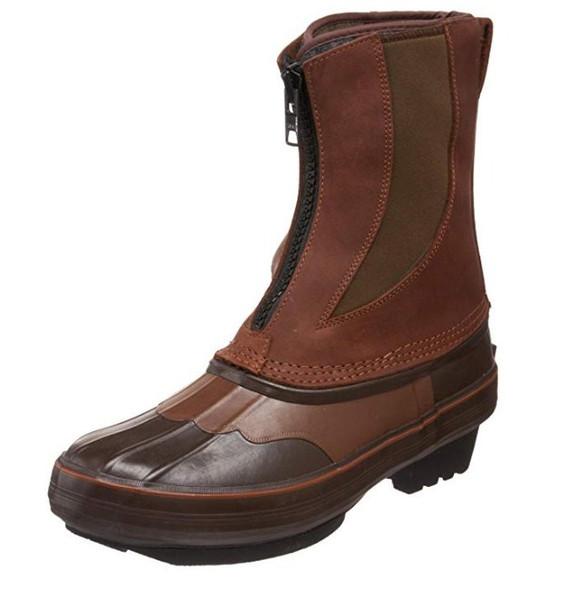 KENETREK Bobcat Cowboy Zip Brown Boots (KE-SZ429-C)