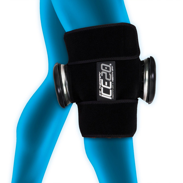 BOWNET Double Knee Ice Compression Wrap (ICE-Dbl-Knee)