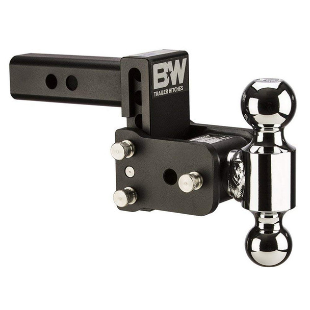 B&W Tow & Stow 3in Drop 3.5in Rise 2x2 5/16 in Dual Ball Size Hitch (TS10033B)