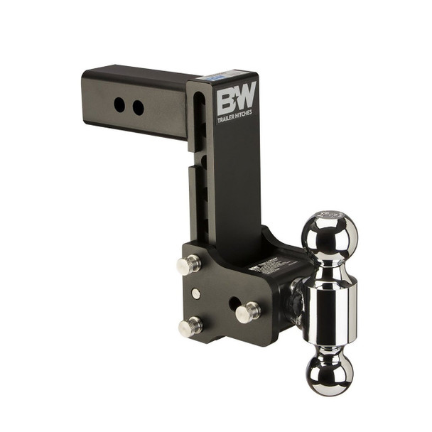 B&W Tow & Stow 7in Drop 7.5in Rise 2x2 5/16in Dual Ball Size Hitch (TS20040B)