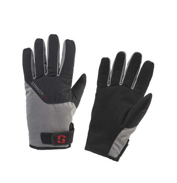 STRIKER ICE Attack Gray/Black Glove (40430)