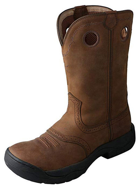 TWISTED X Mens All Around Distressed Saddle Boot (MAB0001)