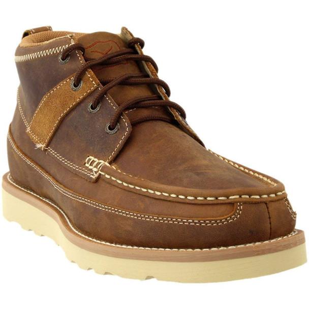 TWISTED X Mens Casual Oiled Saddle Shoe (MCA0007)