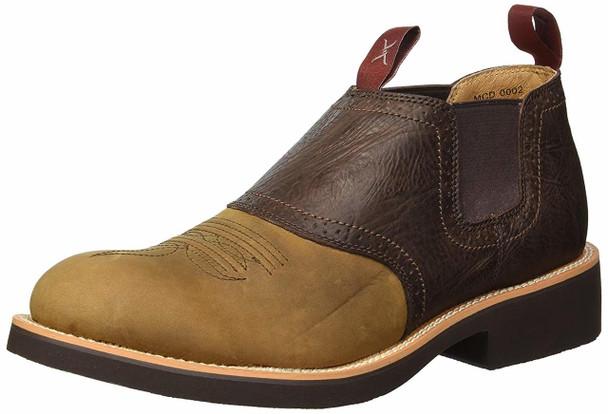TWISTED X Mens Cowdog Distressed Saddle Shoe (MCD0002)