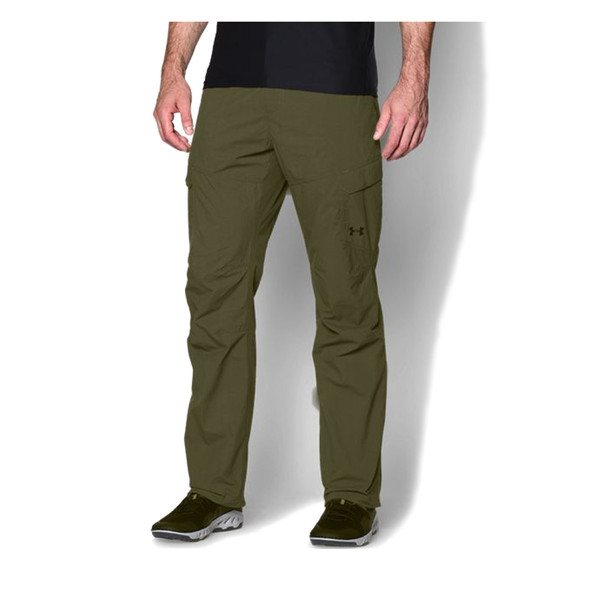 UNDER ARMOUR Mens Green Chesapeake Pants (1253170-001)
