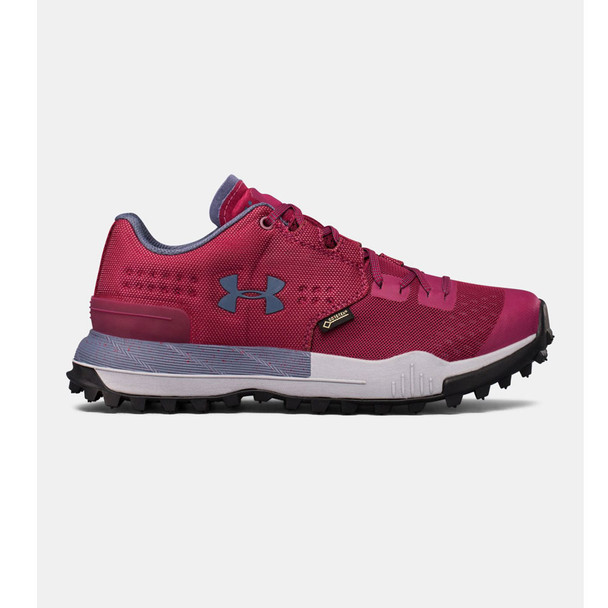 UNDER ARMOUR Womens Newell Ridge Low GTX Black Currant/Steel Shoes (1287342-923)