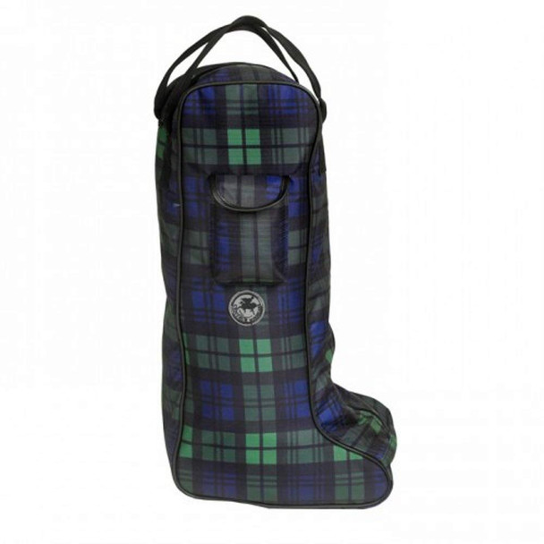 CENTAUR Classic Plaid One Size Tall Boot Bag (467100BLK19)