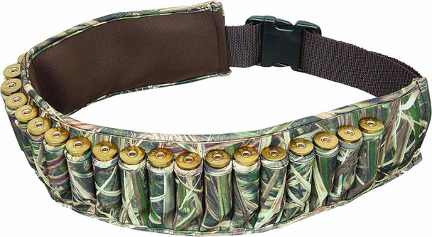 ALLEN COMPANY Mossy Oak Shadow Grass Blades Neoprene Shotgun Shell Belt (2528)