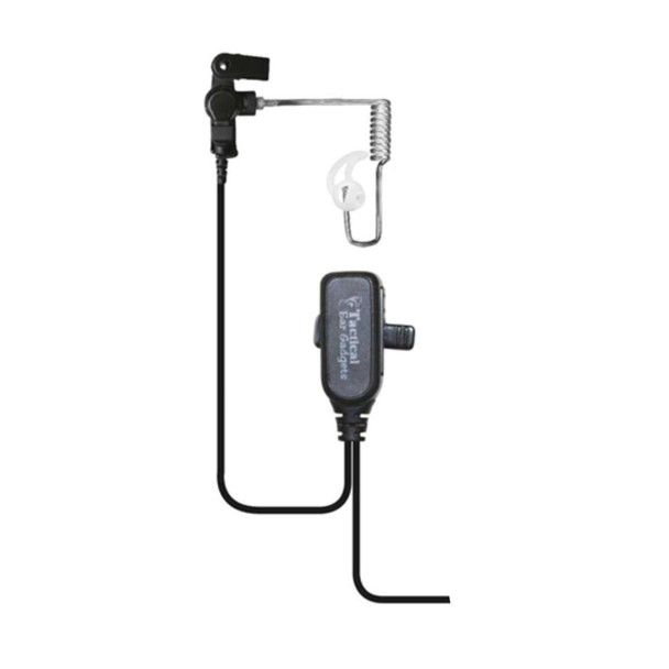 EAR PHONE CONNECTION Hawk Lapel Microphone with Quick Release for Motorola (EP1334)
