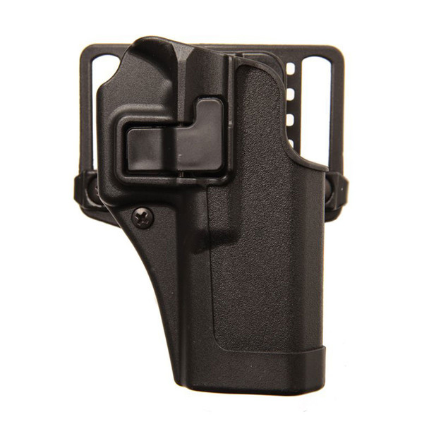 BLACKHAWK Serpa CQC Government 1911 Right Hand Carbon Fiber Belt Holster (410503BK-R)