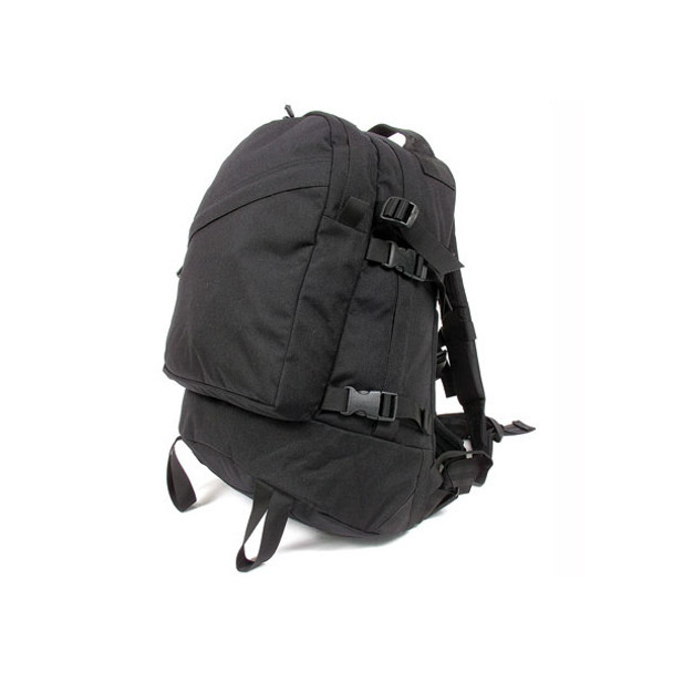 BLACKHAWK 3-Day Assault Black Backpack (603D00BK)