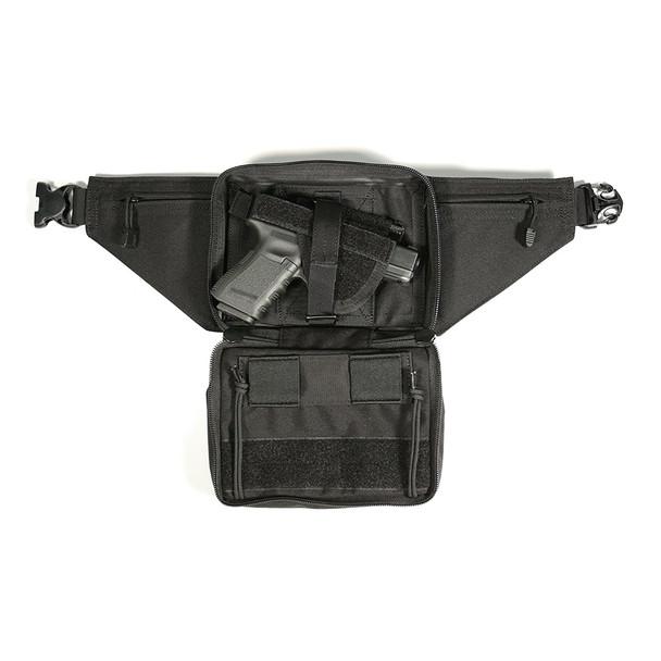 BLACKHAWK Conceled Weapon Fanny Large Black Pack Holster (60WF06BK)