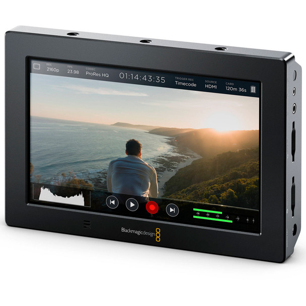 BLACKMAGIC DESIGN Video Assist HDMI/6G-SDI Recorder and 5in Monitor (HYPERD/AVIDAS5HD)