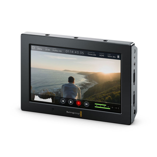 BLACKMAGIC DESIGN Blackmagic Video Assist 4K 7in Recording Monitor (HYPERD/AVIDAS74K)