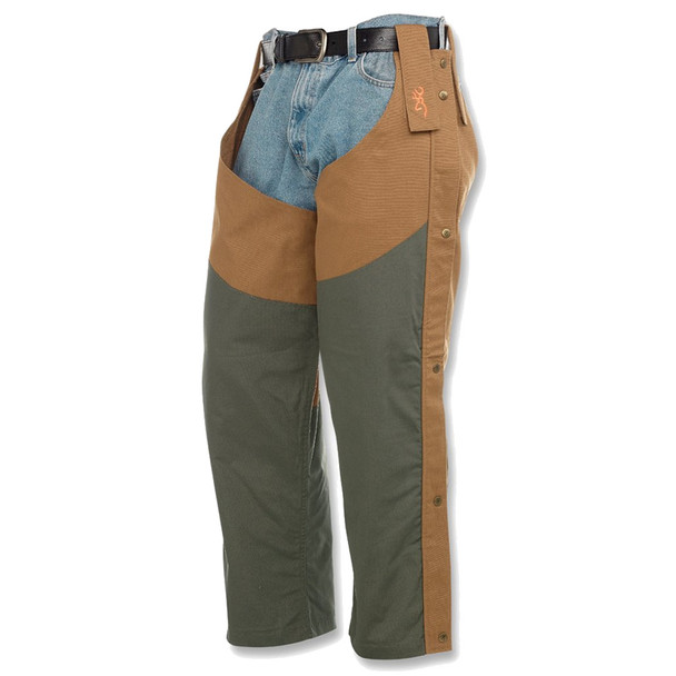 BROWNING Pheasants Forever Tall With Logo Field Tan Chaps (300116320T)