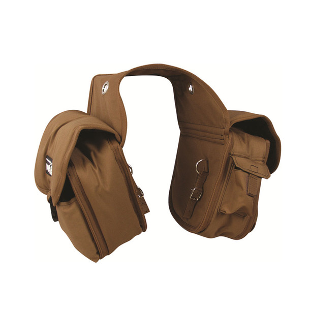 CASHEL Medium Rear Brown Saddle Bag (SB-RB-M-BRN)
