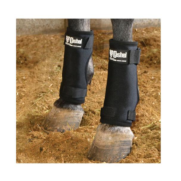 CASHEL Black Medium Stall Sore Boot (SSB-BLA)