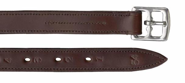 CAMELOT Lined Stirrup Leathers Oakbark (407074OAKBK-7/8)