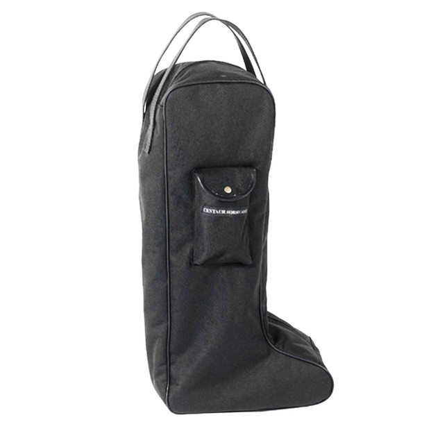 CENTAUR Solid Lined Black Tall Boot Bag (464613BLK-TLBT)