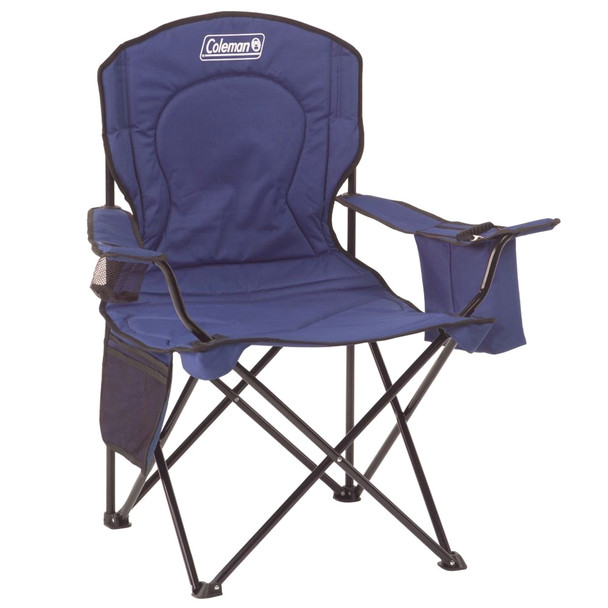 COLEMAN Oversize Blue Quad Chair with Cooler (187644)