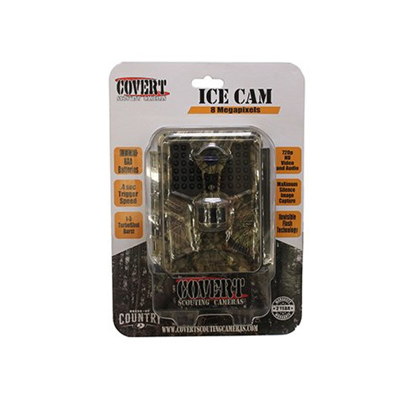 COVERT SCOUTING CAMERAS Ice Cam Mossy Oak Trail Camera (5489)