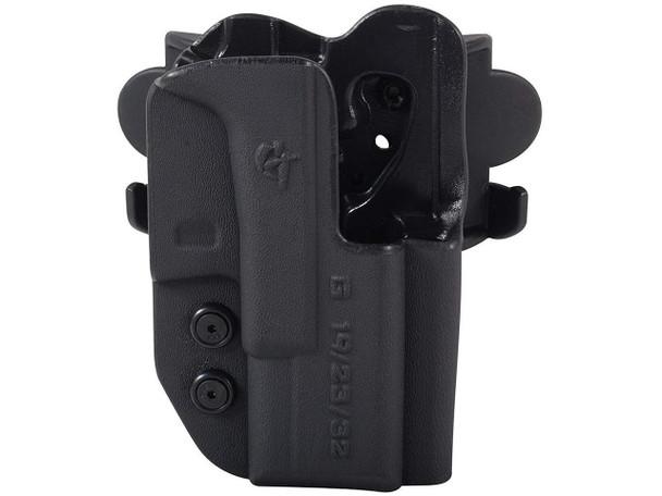 COMP-TAC International OWB Modular Mount Walther CCP RSC Black Holster (C241WA214RBKN)