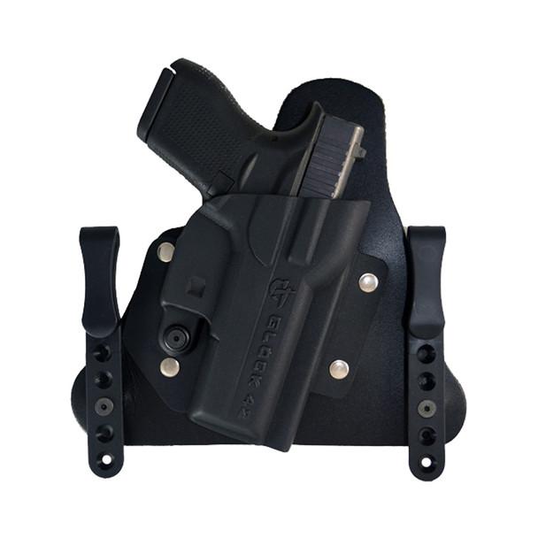 COMP-TAC MERC IWB Hybrid Glock 43 with TLR-6 RSC Holster (C370GL070RBSN)