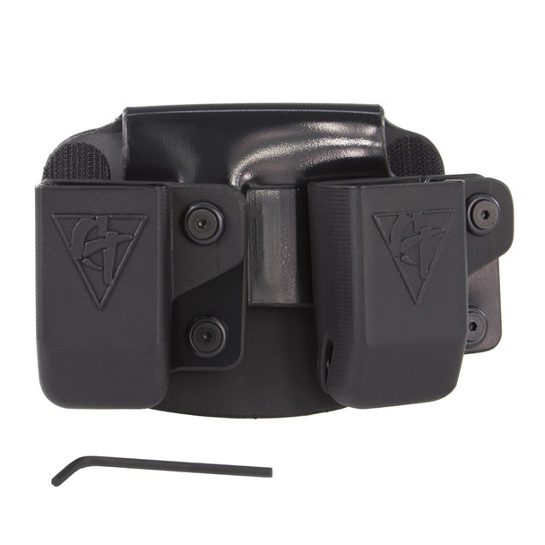 COMP-TAC Twin Paddle OWB Size11 Beretta 92/96/M9 and Sig P226 9/40 Magazine Pouch (C62411000LBKN)