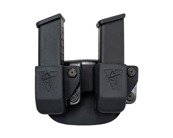 COMP-TAC Twin Paddle OWB Size23 HK P30/P30L/VP9/VP40 Magazine Pouch (C62423000LBKN)
