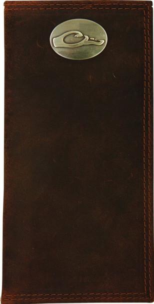 DRAKE Leather Checkbook Wallet (DA7007-LEA)