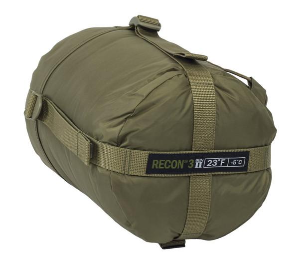 ELITE SURVIVAL SYSTEMS Recon 3 Coyote Tan Sleeping Bag (RECON3-T)