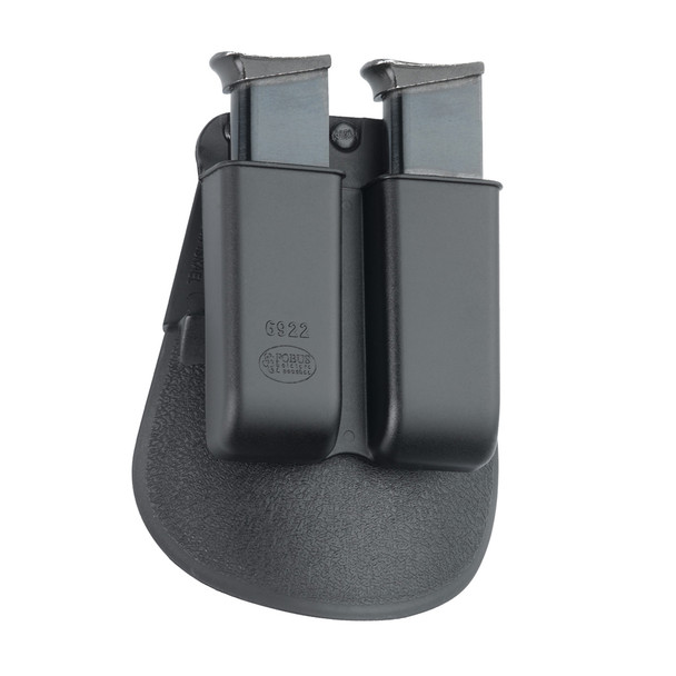 FOBUS 22 LR,380 ACP,32 ACP Double Mag Pouch Paddle Holster (6922P)