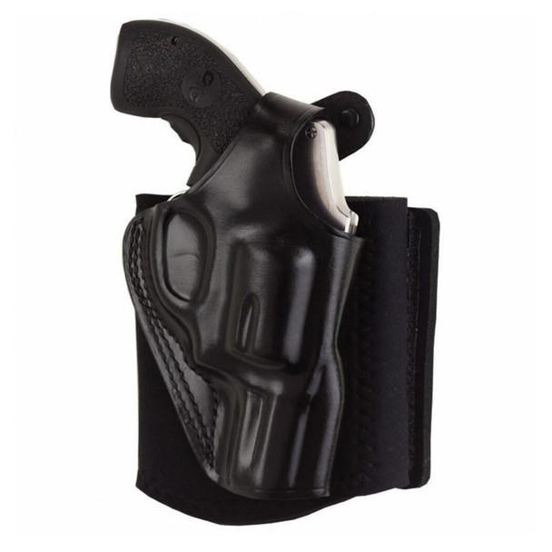 GALCO Ankle Glove S&W J Frame LH Black Holster (AG161B)