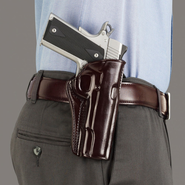 GALCO Concealed Carry Glock 26 Right Hand Leather Paddle Holster (CCP286H)