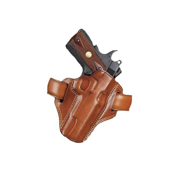 GALCO Combat Master Colt 5in 1911 Right Hand Leather Belt Holster (CM212)