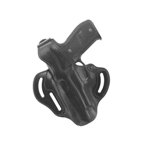 GALCO COP S&W M&P 9,40 3 Slot Left Hand Leather Belt Holster (CTS473B)