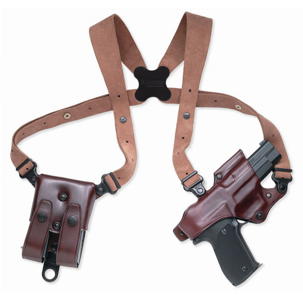 GALCO Jackass Rig Glock 17,22 Right Hand Leather Shoulder Holster (JR224H)
