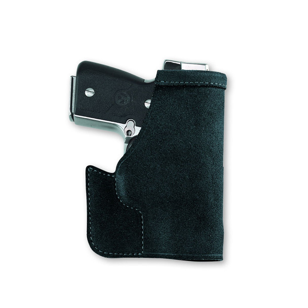 GALCO Pocket Protector S&W Bodyguard 380 with Laser Ambidextrous Leather Pocket Holster (PRO626B)